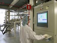 Bedienterminal in der Pharmaindustrie